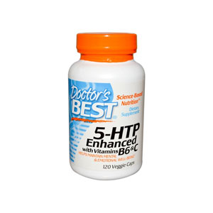 DOCTOR'S BEST ドクターズ・ベスト 5HTP ENHANCED WITH VITAMINS B6 AND C 120カプセル