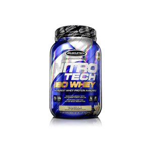 MUSCLE TECH マッスルテック NITRO-TECH 100% ISO WHEY ナイトロテック・アイソホエイ 2.27KG/79回