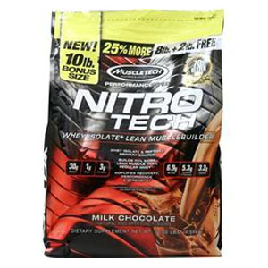 MUSCLE TECH マッスルテック NITRO-TECH PERFORMANCE 徳用ナイトロテック 4.67KG