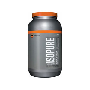 NATURES BESTネイチャーズベスト ISOPURE BLACK & GREEN TEA PEACH味 1.36kg